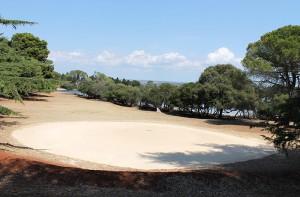 Golfplatz auf Brijuni