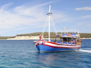 ausflug mit dem schiff zu den brijuni-inseln