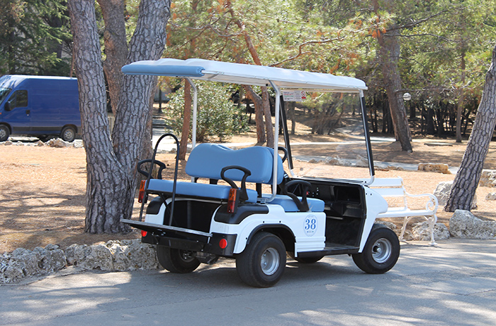 Golf spielen auf Brijuni
