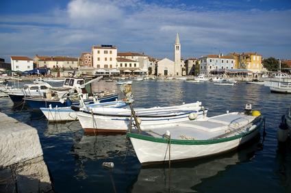 Hafen von Fazana