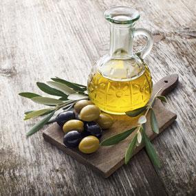 Öl aus Oliven