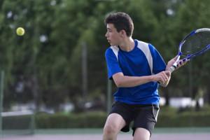 Tennisspieler auf Brijuni