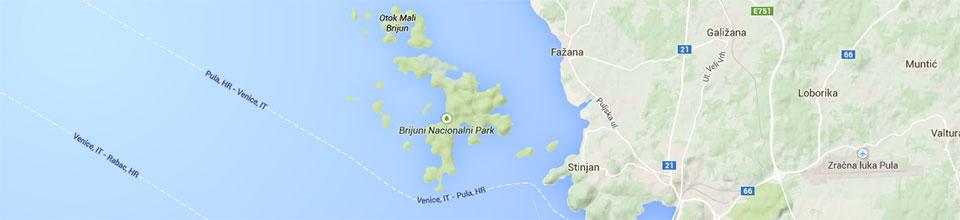 Brijuni Inseln in Kroatien