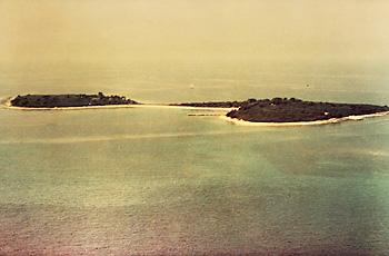 inselgruppe Brijuni vor der istrischen Küste kroatiens